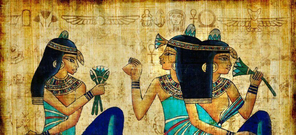 Egyptian color palette