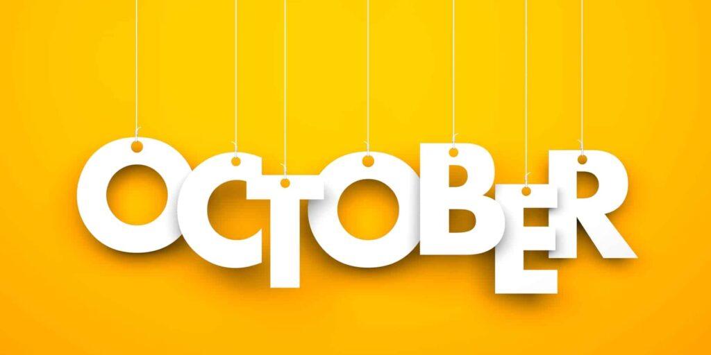 International Days for October